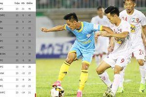 CLB Hà Nội chờ ngày... vô địch, 5 đội khác tranh suất trụ hạng