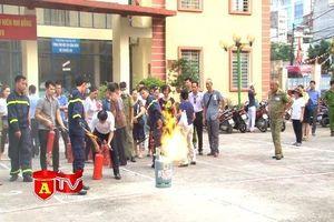 Nâng cao hiệu quả công tác PCCC trên địa bàn phường Nghĩa Đô