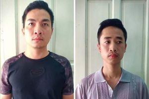 Bắt hai nghi phạm gửi bưu phẩm phát nổ ở khu đô thị Linh Đàm