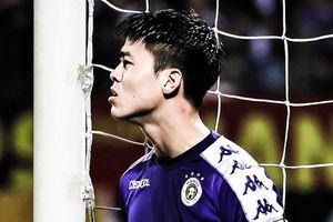 Sai lầm của Duy Mạnh trong trận CLB Hà Nội gặp Viettel