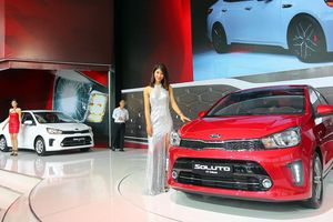 Thaco ra mắt dòng xe Kia Soluto