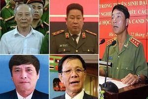 Những tướng công an, quân đội sai phạm... bị 'vào lò'?