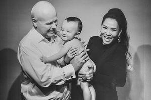 Thu Minh hiếm hoi khoe ảnh cận mặt con trai, tâm sự về quãng thời gian stress sau sinh