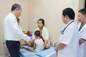 Phú Thọ: 80 trẻ mầm non nhập viện nghi do ngộ độc thực phẩm