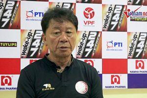 HLV Chung Hae-seong nói điều bất ngờ về chức vô địch sau trận hòa Nam Định