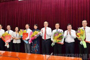 Thành ủy TP.HCM có thêm 5 nhân sự cấp cao
