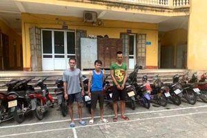 Thanh Hóa: Ổ nhóm nghiện ma túy gây ra hàng chục vụ trộm cắp xe máy