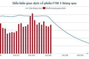 Cổ phiếu giảm sàn 22 phiên liên tiếp, ông Nguyễn Hoàng Giang xin từ chức Chủ tịch FTM sau 5 tháng