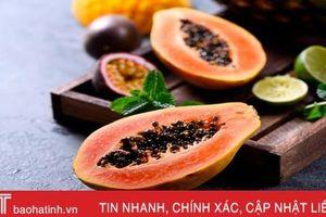 Mặt nạ dưỡng da mùa thu 'bổ sung vitamin' cho làn da