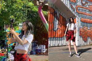 Knet đang phát sốt với loạt ảnh khoe eo con kiến của minh tinh đình đám Han Ye Seul: Body chuẩn như gái 20, ai dè đã U40