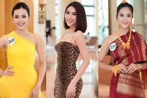 Hoa hậu Hoàn vũ Việt Nam 'đổ bộ' miền Bắc: Tường Linh khoe vòng eo 53, mỹ nhân người dân tộc thiểu số gây chú ý