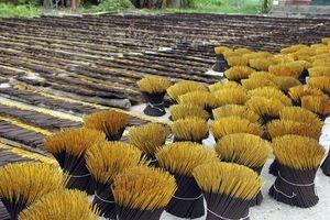 Ấn Độ hạn chế nhập khẩu hương nhang: Hơn 40 doanh nghiệp Việt Nam 'kêu cứu'