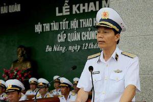 Chuẩn Đô đốc Nguyễn Trọng Bình làm Phó tổng tham mưu trưởng Quân đội