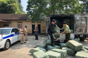 Chặn đứng 2,3 tấn nầm lợn nhập lậu từ Trung Quốc
