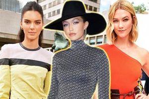 Gigi Hadid, Kendall Jenner và 'rợp trời' sao trên hàng ghế đầu Tuần lễ Thời trang New York Xuân Hè 2020