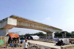 Cầu Phước Lộc chưa thể nối đôi bờ Nhà Bè