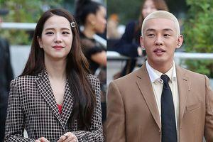 Jisoo diện đồ công sở sau tin hẹn hò, Yoo Ah In nhuộm tóc bạch kim