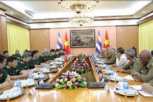 Việt Nam và Cuba đối thoại chính sách quốc phòng