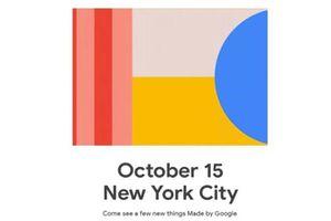 Google công bố Pixel 4 vào ngày 15.10