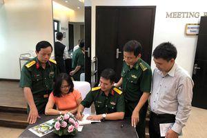 Thiếu tá - nhà báo Đặng Trung Kiên ra mắt sách về biển đảo Việt Nam