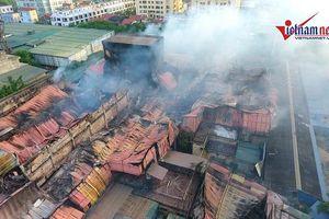 Hà Nội thông tin kết quả khắc phục vụ cháy Rạng Đông