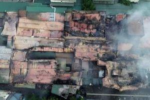 Cháy Công ty Rạng Đông do chập điện, không có sự phá hoại
