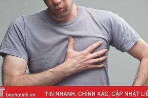 5 dấu hiệu cảnh báo bệnh lý tim mạch cần cấp cứu