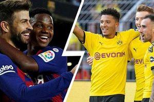 Lịch phát sóng Champions League: Barca đụng độ Dortmund, Real chạm trán PSG