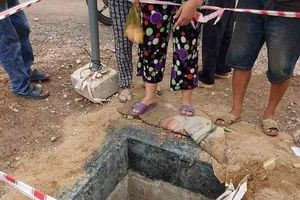 Cháu bé 4 tuổi rơi xuống cống bị nước cuốn đi hàng trăm mét may mắn được cứu sống