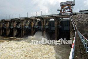 Sáng nay 17-9: Thủy điện Trị An xả nước qua tràn