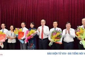 Ban Bí thư chỉ định nhân sự mới ở TPHCM