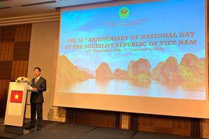 Trọng thể kỷ niệm 74 năm Quốc khách Việt Nam tại Slovakia