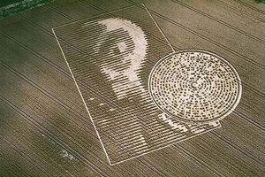 Dấu hiệu kỳ lạ người ngoài hành tinh để lại trên cánh đồng?