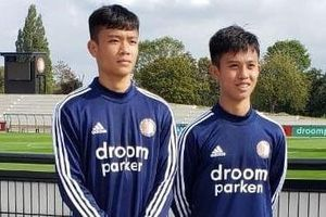 4 cầu thủ HAGL được tập luyện cùng đội U17 Feyenoord