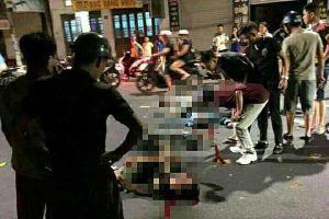 Hải Phòng: Hai xe máy tông nhau trong đêm, 4 người thương vong