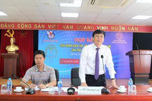 198 vận động viên tranh tài tại Giải bóng bàn cúp Hội nhà báo Việt Nam lần thứ XIII - năm 2019