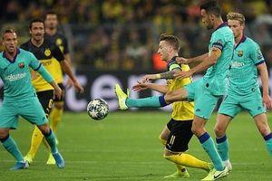 Barcelona hòa may mắn tại Signal Iduna Park trước Borussia Dortmund