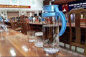 Sở Tư pháp Hà Nội nói không với sản phẩm nhựa dùng một lần