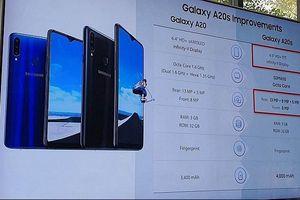 Samsung Galaxy A20s có mặt đầu tiên ở Malaysia