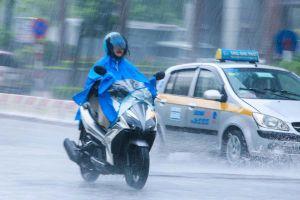 Thời tiết 3 ngày tới, mưa giông khắp nơi