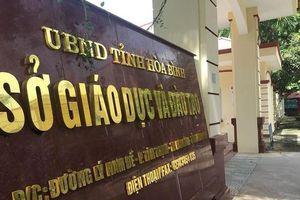 Thêm 9 đảng viên bị kỷ luật liên quan gian lận thi cử tại Hòa Bình