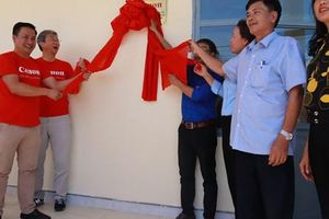 Canon trao tặng phòng học mới cho trường mầm non tại Kon Tum