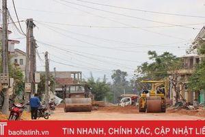 Nhiều dự án giao thông ở TP Hà Tĩnh 'đắp chiếu' chờ mặt bằng