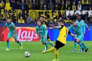 Reus sút hỏng penalty, Dortmund lỡ cơ hội đánh bại Barcelona