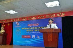 Gần 200 tay vợt tham dự Giải bóng bàn Cúp Hội Nhà báo Việt Nam 2019