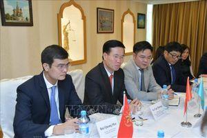Trưởng Ban Tuyên giáo Trung ương Võ Văn Thưởng thăm và làm việc tại Kazakhstan