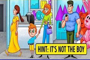 Bạn có phát hiện ra ai là kẻ trộm trong bức ảnh này?