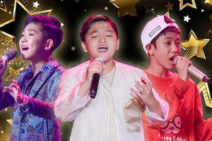 Hiểu Minh - Đức Khôi - Chấn Quốc: Hot boy nhí nào trụ vững đến chặng đua cuối cùng The Voice Kids 2019?