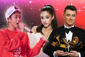Trò cưng Phạm Quỳnh Anh - Đức Khôi nói tiếng Anh siêu chuẩn, thần tượng Ariana Grande - Sam Smith
