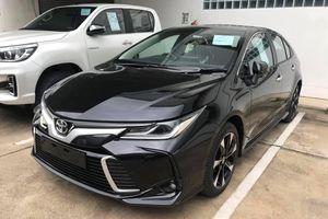 Chi tiết Toyota Corolla Altis 2020 sắp về Việt Nam